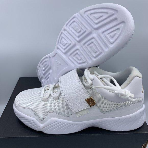 JORDAN J23 Size 10.5 White Men Basketball Sneakers